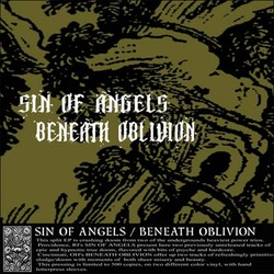 "Beneath Oblivion / Sin Of Angels split 10"" GREEN VINYL /150"