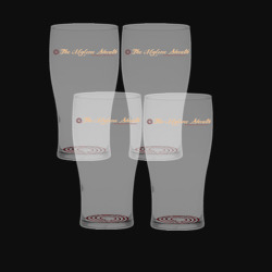 Sheath Pub Glass 4-Pack