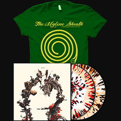 Sines 2xLP + The Summer Of Sheath T-shirt PACKAGE DEAL! [Green T-Shirt]