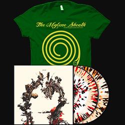 Sines 2xLP + The Summer Of Sheath T-shirt PACKAGE DEAL! [Green T-Shirt]