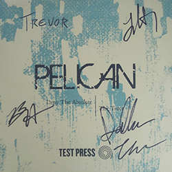 """Deny The Absolute b/w The Truce 7"""" (TEST PRESS   #8/25   AUTOGRAPHED BY BAND)"""