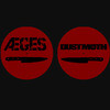 "Aeges/Dust Moth ""Bad Blood"" two-sided slipmat"