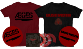 "Aeges/Dust Moth ""Bad Blood"" split 7"" Preorder!"