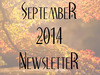 September Newsletter!