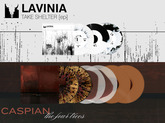 "PREORDER! New Lavinia 7"" & Caspian ""The Four Trees"" 2xLP repress!"